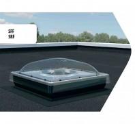 Tunel de lumina Fakro SRF pentru acoperis terasa