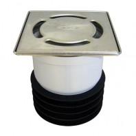 Sifon vertical cu clapeta pentru mirosuri DN110, capat de coloana - HL73.2