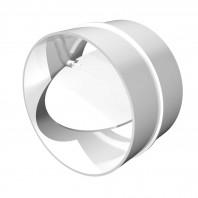 Conector circular clapeta