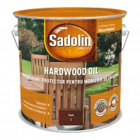 Impregnant protector pentru mobilier de gradina - Sadolin HARDWOOD OIL