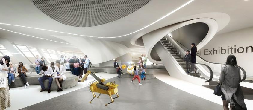 Un muzeu dedicat roboților construit chiar de exponate