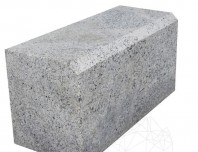 Bordura Granit Leopard White 20 x 25 x 50 cm (debitata + Bizot 1L) - PC-4784