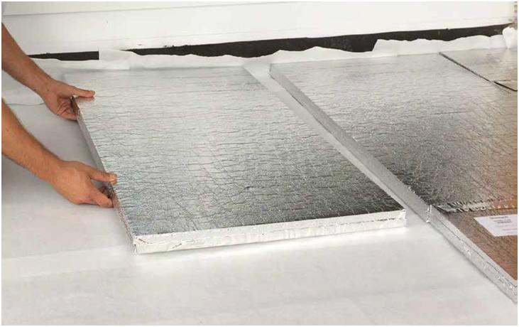 Termoizolații de calitate pentru acoperișuri plane: panourile Vacuboard