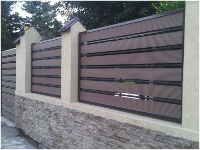 Gard din lemn compozit (WPC) Bencomp
