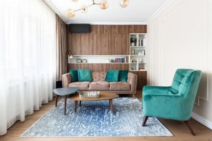 Proiect #MyFamousHome - Living  Bucuresti Creativ Interior