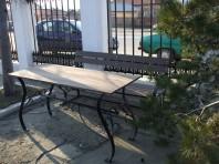 Mobilier pentru gradina din lemn compozit WPC