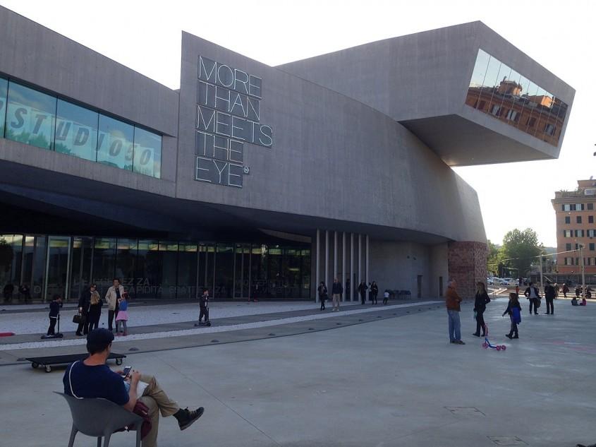 Muzeul National al Artelor Secolului XXI (MAXXI) din Roma, Zaha Hadid