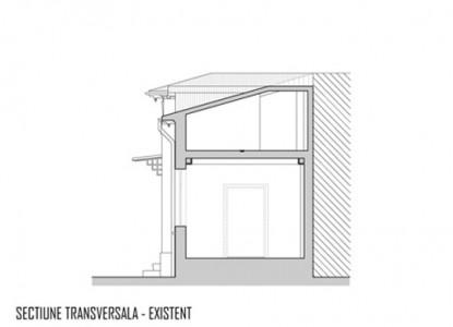 Remodelare mansarda locuinta existenta - str Ioan Bianu 10.7  Bucuresti AsiCarhitectura