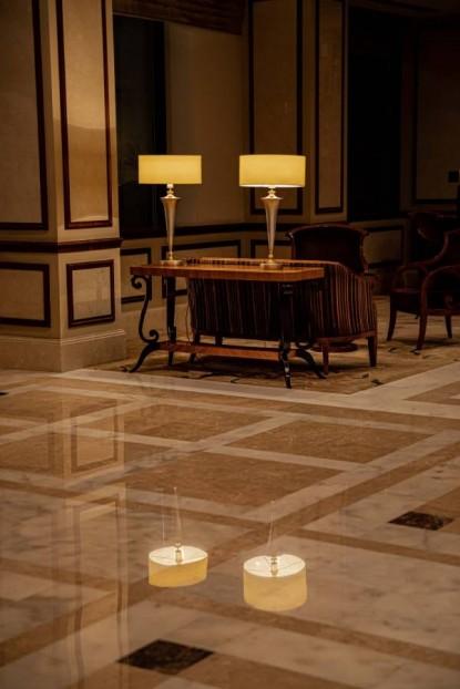 Slefuire marmura - Hotel Athénée Palace Hilton  Bucuresti BROWNSTONE