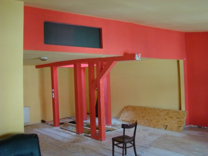 Reamenajare mansarda - Birouri - Existent 2  Bucuresti AsiCarhitectura