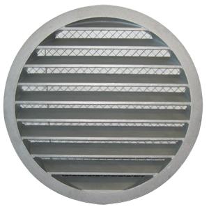 Grila de aluminiu circulare cu jaluzele fixe - GCAM