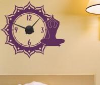 "Sticker tip ceas de perete ""Meditatie"""