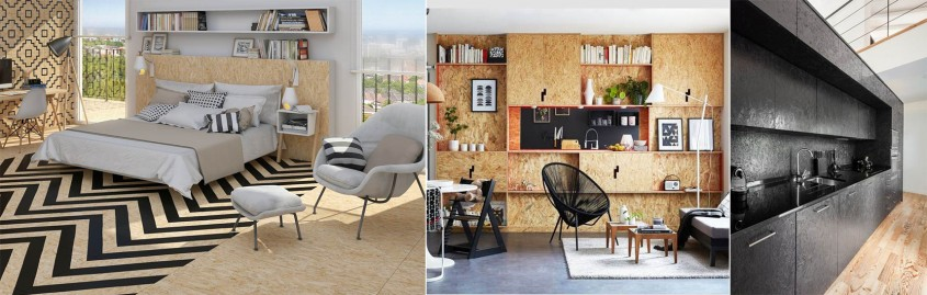Placa OSB, tendința momentului în designul interior