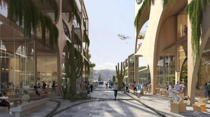 """""""Cel mai sustenabil oraş din lume"""" este construit de la zero în deşert"""