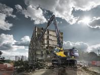 Utilajele pentru demolare la inaltime mare - Volvo EC380E HR, EC480E HR