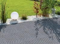 ARTE Dale Arc de Cerc - Dale cu suprafata din beton aparent