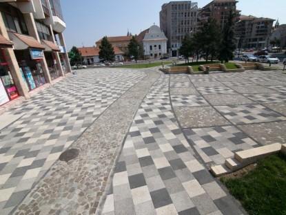 Spatiul pietonal in urma amenajarii,Alba Iulia  Alba Iulia ELIS PAVAJE