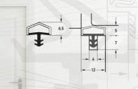 Garnitura pentru usi de interior - Art. M7292/12