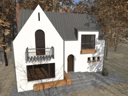 Casa de vacanta P+M - Nistoresti - Breaza 11.4  Breaza AsiCarhitectura