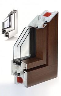Sistemul TROCAL 76 MD pentru ferestre cu deschidere spre interior