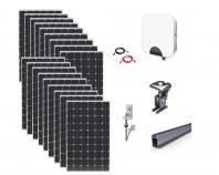 Kit Fotovoltaic On-Grid 5kWp - 18 Panouri Policristaline 280W