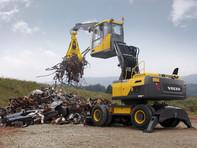 Excavator pe roti - Volvo EW180E