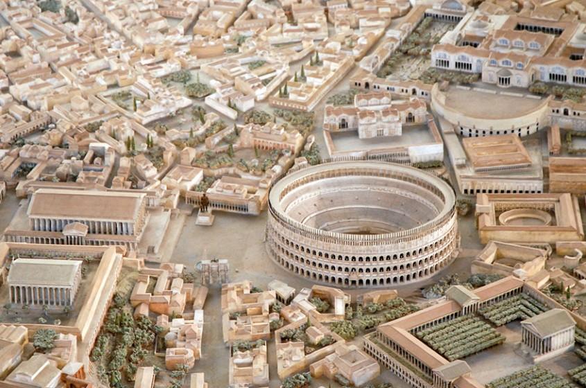 Un arheolog a lucrat 38 de ani la macheta Romei Antice Vezi cum arăta orașul la