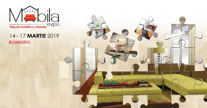 Pe 14 martie începe MOBILA EXPO.  La ROMEXPO găsești inspirația pentru o casă cu stil