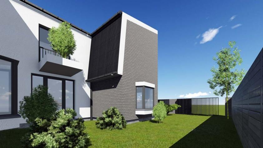 Casa U de la Mogosoaia P+1  Ilfov AsiCarhitectura
