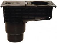 Caseta ape pluviale cu racord evacuare vertical fix - HL660/2