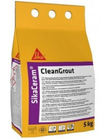 Sika® Ceram CleanGrout - Chit flexibil pe baza de ciment