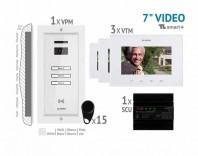 Kit video SMART + 7'', panou incastrat - VKM.P3FR.T7S4.ELW04