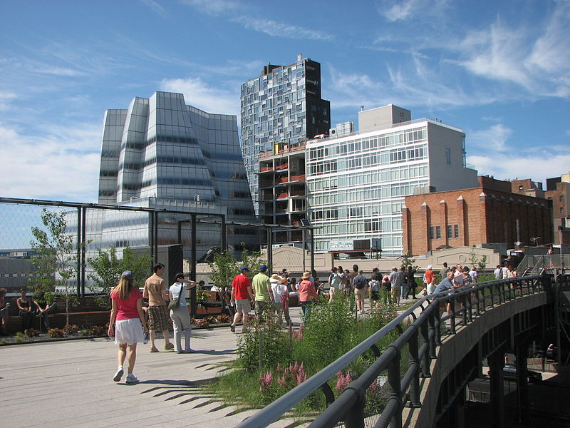 Parcul High Line de James Corner Field Operations Diller Scofidio + Renfro Piet Oudolf (2009-2019)- New