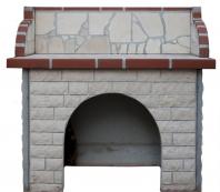 Masa gratar simpla - Placata cu piatra decorativa Vratza scapitata 7 cm GCG-4758