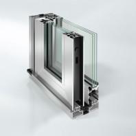 Sistem de profile din aluminiu pentru usi glisante - Schüco ASE 60