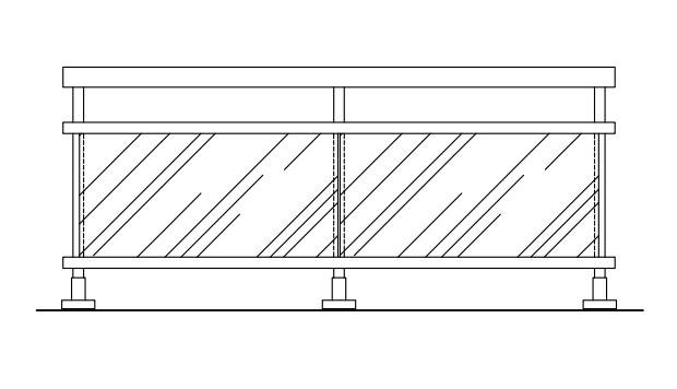 Balustradele din sticlă securizată Moldoglass: aspect spectaculos, calitate, utilitate și funcționalitate