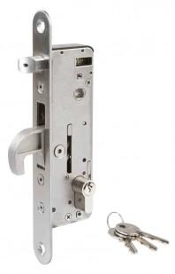 Incuietoare incastrabila pentru porti metalice H-Metal
