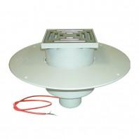 Receptor pentru acoperis carosabil cu guler din PVC si incalzire (10 - 30 W 230 V)
