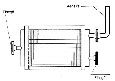 Fig. 3: Zincarea doar la exterior a unei piese, utilizând un tub pentru aerisire