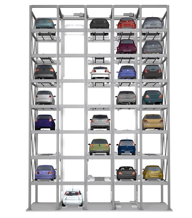 Sistem de parcare automat Combiparker 555