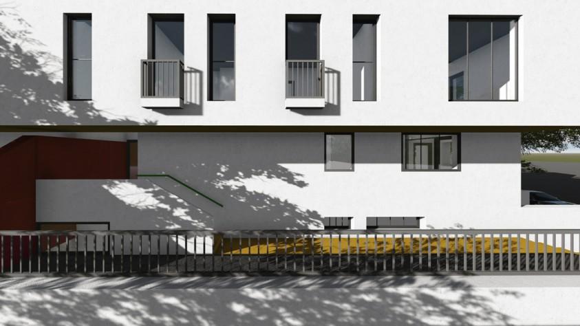 Locuinte colective D+P+2E+M - Bucuresti - str. Peris - 01.12  Bucuresti AsiCarhitectura