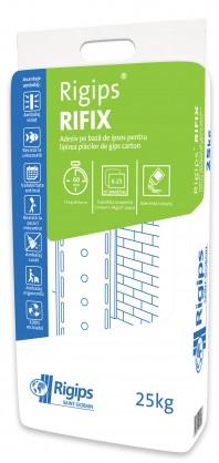 Adeziv Rigips® RIFIX - Fixare si finisare a placilor de gips-carton pentru cladiri vechi sau noi