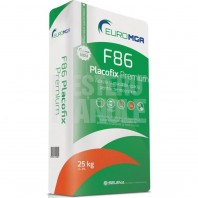 Adeziv si masa de spaclu pentru polistiren si vata minerala - F86 Placofix Premium