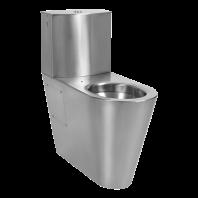 Vas WC din otel inox cu rezervor pentru persoane cu dizabilitati - SANELA SLWN 16