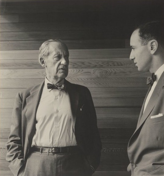 "<p>Walter Gropius si Harry Seidler in 1954<br _mce_bogus=""1""></p>"