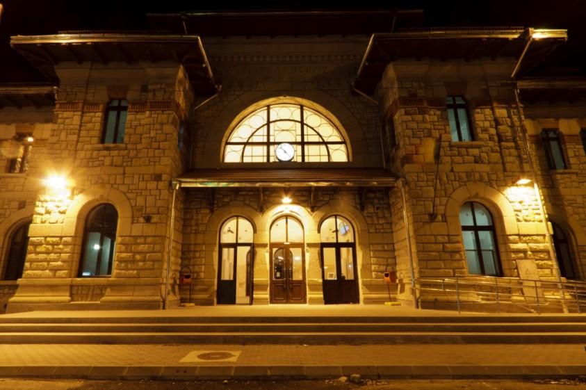 Statie CFR Piatra Neamt-seara  Piatra-Neamt SAINT-GOBAIN CONSTRUCTION PRODUCTS ROMANIA - DIVIZIA RIGIPS
