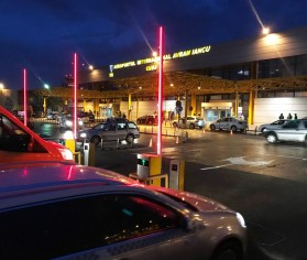Sistem Equinsa de gestionare a parcării pentru Aeroportul Cluj-Napoca
