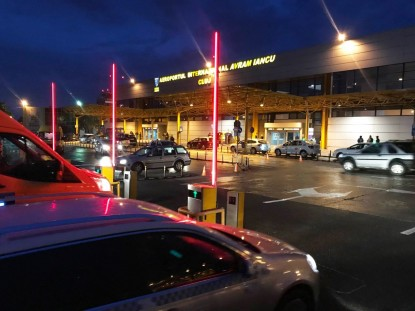 Sistem  de parcare cu plata marca EQUINSA -Aeroport Cluj-Napoca  Cluj-Napoca TRITECH GROUP