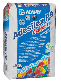 Adeziv imbunatatit pe baza de ciment, cu priza rapida - ADESILEX P9 EXPRESS