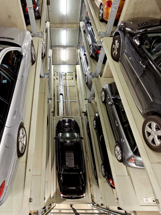 Sistem de parcare automat Parksafe 582